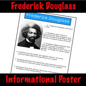 Frederick Douglass - Nonfiction Fact Sheet