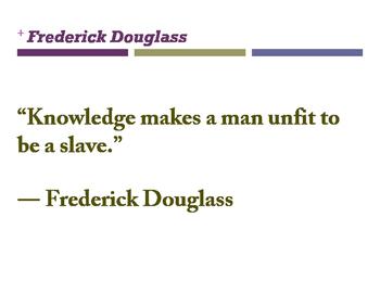 Frederick Douglass QUOTES