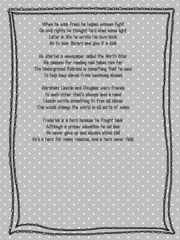 Frederick Douglass Rap Lyrics