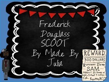 Frederick Douglass Scoot- Great for Georgia  Milestone!