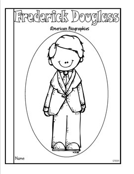 Frederick Douglass Tab Booklet