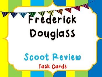Frederick Douglass Task Cards