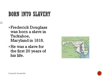 Frederick Douglass Teaching Packet REVAMPED!!!
