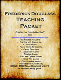 Frederick Douglass Teaching Packet REVAMPED!!!