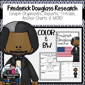 Frederick Douglass Research Report Bundle