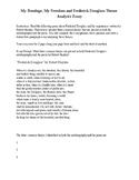 Frederick Douglass Theme Essay