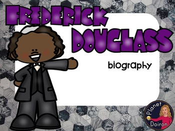 Frederick Douglass biography Famous Americans black history LOW PREP