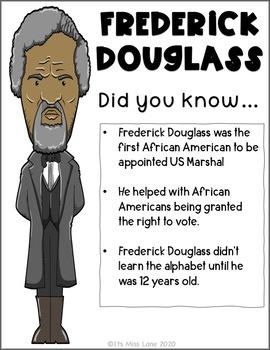 Frederick douglass essay topics