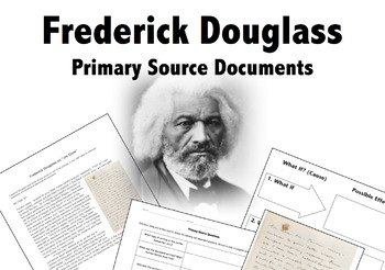 "Frederick Douglass on Abolition Primary Source ""Letter to Unknown Recipient"""