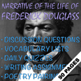 Narrative of the Life of Frederick Douglass   3 Weeks of A+ EDITABLE Lessons!!
