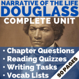 Narrative of the Life of Frederick Douglass | 3 Weeks of A+ EDITABLE Lessons!!