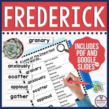 Frederick by Leo Lionni Book Companion