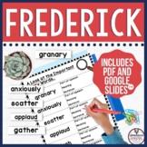 Frederick by Leo Lionni Book Companion
