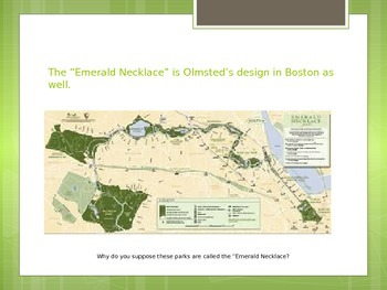 Frederick Law Olmsted - THE LANDSCAPE ARCHITECT OF NORTH AMERICA!