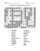 Frederick Vocabulary Word Search