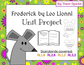Frederick by Leo Lionni Unit Project