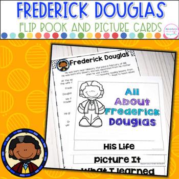 Fredrick Douglas- Flip Book and Vocab Cards