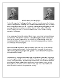 Fredrick Douglass Biography with Comprehension Question