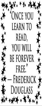 Fredrick Douglass Bookmark
