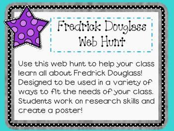Fredrick Douglass Web Hunt