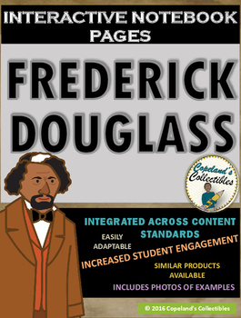 Frederick Douglass's Interactive Notebook Pages