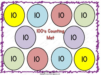 Free 100 Counting Mat