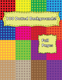 Free 100 Dotted Backgrounds