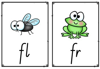 Free - 18 Blend and Digraph Flashcards