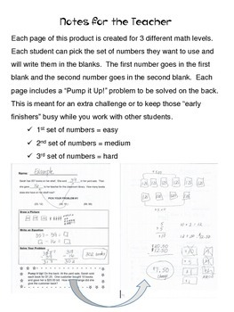 Free 2 Step Word Problems (Addition & Subtraction)