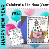 Free 2021 Happy New Year Celebration Page
