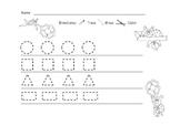 Free 2D Shapes Worksheet
