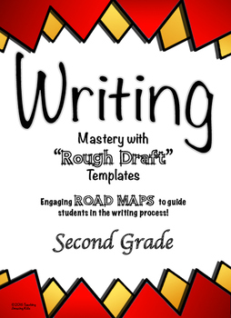 """Free - 2nd Grade:  Writing Mastery with """"Rough Draft"""" Temp"""
