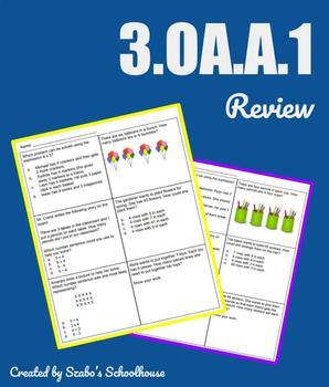 Free 3.OA.A.1 Review