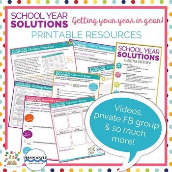 Free 30-Day Teacher Challenge to Get Your Year in Gear!