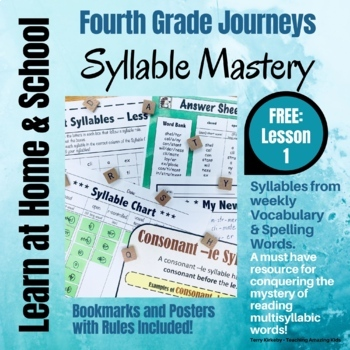 syllable mastery 4th grade free lesson 1 by teaching amazing kids. Black Bedroom Furniture Sets. Home Design Ideas