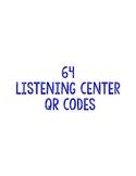 Free 64 QR Codes for Listening Center