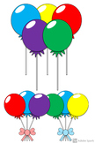 7 Piece Lollipop Candy Clipart in Bright Colors