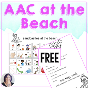 Free AAC at the Beach - Summer Communicating Fun