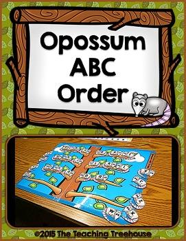 Free ABC Order File Folder Game