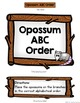 Free ABC Order File Folder Game