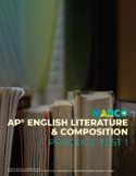 Free AP English Literature and Composition Practice Test