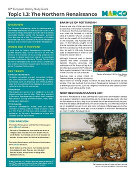 Free AP European History Study Guide - Topic 1.3: The Northern Renaissance