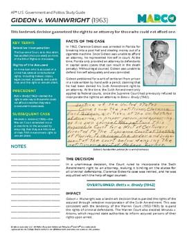 Free AP U.S. Government and Politics Study Guide