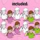 """Free ASL Clip Art Set - """"Fruit"""" and """"Vegetable"""""""