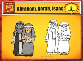 Free Abraham, Sarah, and Isaac Clip Art Sample by Charlott