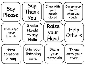 Free Adapted Book: Good Manners