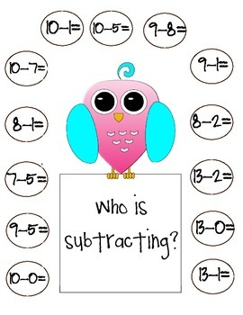 Free Adding and Subtracting Mats