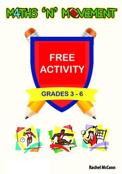 Free Maths N Movement (PE and Maths) Addition Activity For Years 3, 4, 5 or 6
