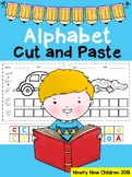 Free Alphabet Cut and Paste ( Upper and Lower case )