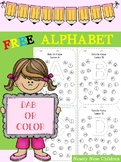 Free Alphabet DAB or Color